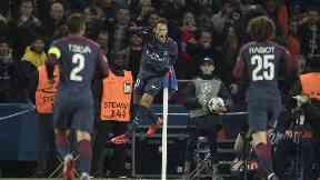 Torment: Neymar scored against Celtic again.