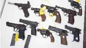 Firearms: There has been an 174% increase.
