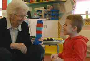 The children's language and social skills are said to have improved.
