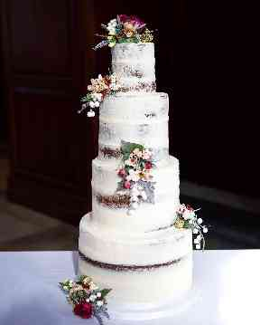 Towering vegan wedding cakes are a challenge Louise is willing to tackle.