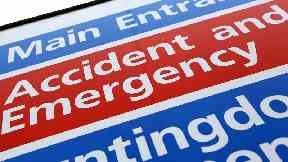 A&E: Nearly 4000 patients waited longer than four hours.