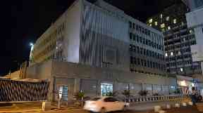 The US Embassy in Israel may be moved from Tel Aviv (pictured) to Jerusalem.