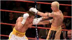 Boxing: Edinburgh fighter Alex Arthur defeated Ricky Burns in 2006.