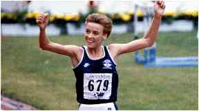 Liz McColgan, then Liz Lynch, won gold in 1986.