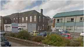 Arbroath Infirmary: Patients were diagnosed with influenza.
