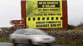 The Irish border issue has become a sticking point in Brexit talks.