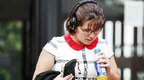 Mother Lynsey Dunn, 28, also admitted a charge of neglect.