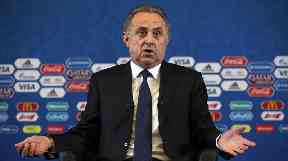 Vitaly Mutko has had a number of sanctions against him.