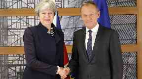 Donald Tusk is set to make a statement on Friday morning.