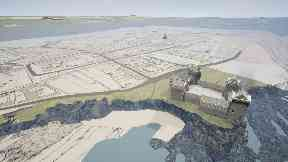 Town: Project to recreate St Andrews.