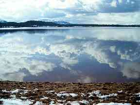 Loch Morlich, Cairngorms National Park.
