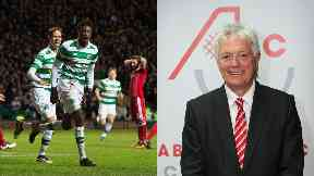 Charge: Skinner backed Celtic to beat Aberdeen.