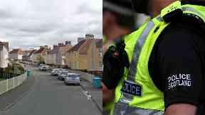 Coatbridge: Death treated as unexplained.