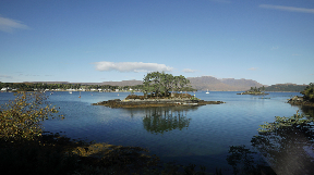 Loch Carron: Designed as a marine protected area (file pic).