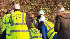 Volunteers have been out searching for Sophie over the last few days.