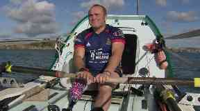 Lee Spencer hopes to set a new record for a solo Atlantic crossing