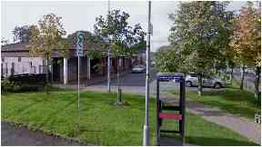 Police: The men struck at a general store on Sandvale Place, Shotts, Lanarkshire on Thursday night.