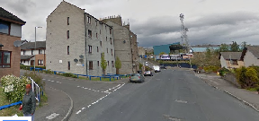 Police: The man was discovered on the road, less than half a mile from Dens Park.
