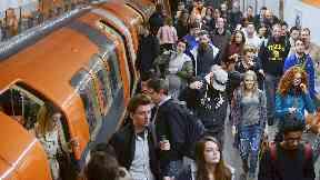Clockwork Orange: Glasgow's subway system serves 13 million people a year.