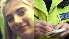 Carmen Buchan: Police combing capital for missing girl.