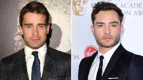 Christian Cooke (L) will replace Ed Westwick in the TV drama Ordeal by Innocence.