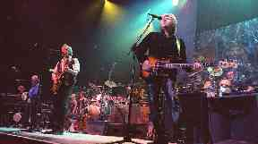 The Moody Blues play at Royal Albert Hall in 2002.