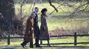 The Duke and Duchess of Cambridge accompanied Prince Philip.