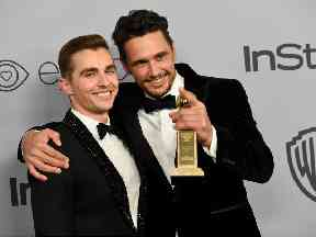 Brothers Dave and James Franco, stars of The Disaster Artist