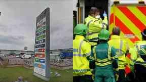 Aberdeen: Boy taken to hospital.