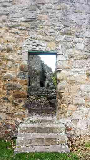 An ancient entrance at Aberdour.