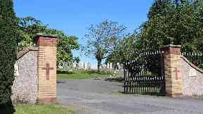 St Conval's Cemetery: Family hits out at grave vandalism.