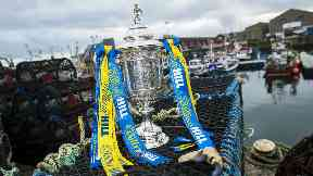 The draw for the last eight of the Scottish Cup took place on Sunday.
