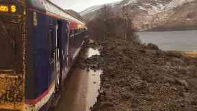 ScotRail train derailed between Arisaig and Glenfinnan