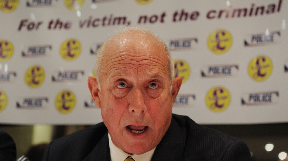 Godfrey Bloom: 'Bewildered' at student union's decision (file pic).