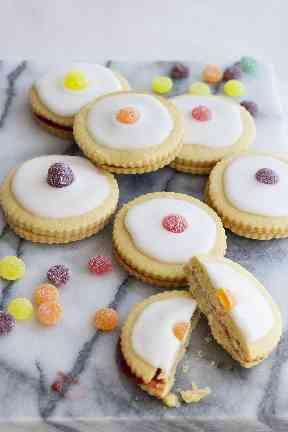 Vegan empire biscuits helped satisfy sweet tooth cravings.