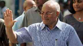 Former president and opposition leader Maumoon Abdul Gayoom has been arrested.