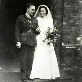 Patricia and Douglas were only able to enjoy ten days of marriage before their war duties separated them for over three years.
