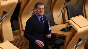 Michael Matheson: Justice secretary addressed MSPs on Wednesday.