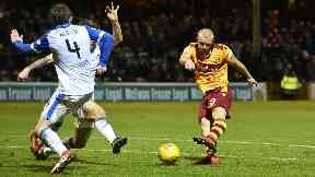 Curtis Main has scored four goals in six games since signing for Motherwell