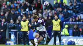 Greig Laidlaw kicked Scotland to victory over France.