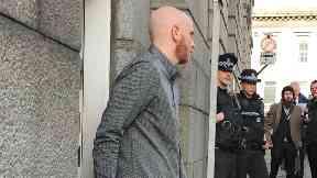 Robbie McIntosh: He was jailed again.