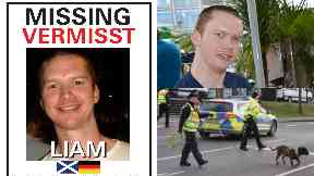 Liam Colgan: Searches still being made to find him.