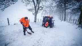 The responders: Two charities covered over 1000 miles to help emergency services during the cold spell.