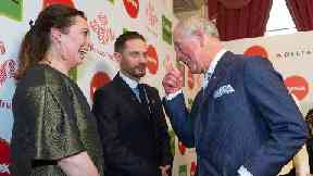 Olivia Colman met Prince Charles ahead of Queen role.