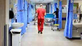 Fears: Ward closed to new patients.