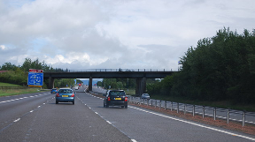 A74: Woman robbed whilst near Johnstonebridge.