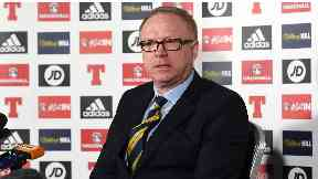 Change: McLeish has revamped the Scotland squad.