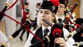 Remembering Eilidh: The 14-year-old was a very dedicated member of the Sgoil Lionacleit Pipe Band.