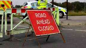 Police: The road was closed for several hours.