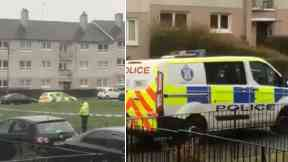 Police: Mr Hayat was allegedly killed in a flat on Raithburn Road, Castlemilk.